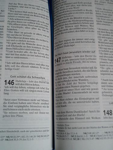 Bible - Psalms in German