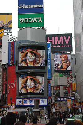 Shibuya-ONE PIECE06