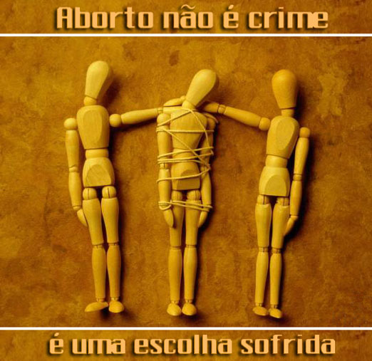 aborto não é crime
