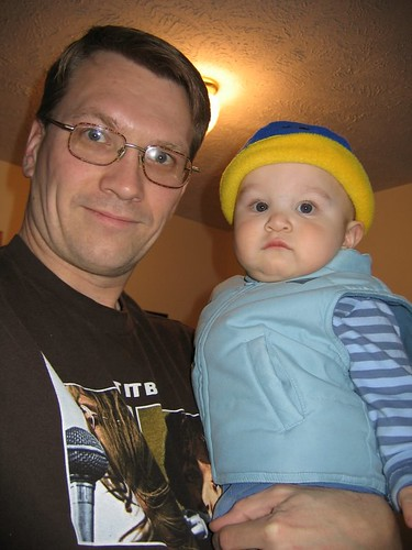 Goin' Clubbin' with Dad ;)