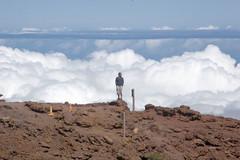 Khoa on Haleakalā