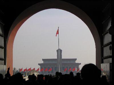 Through Heavenly Peace Gate