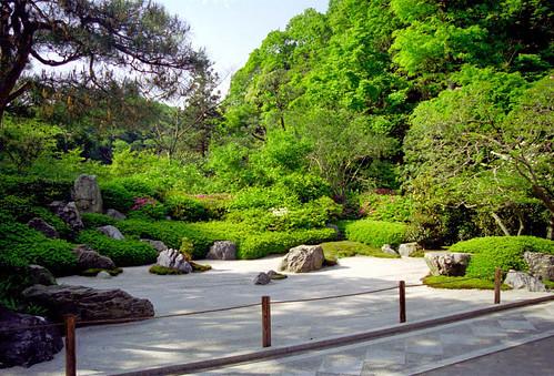 Fri, 01/08/1997 - 00:00 - Karesansui(Japanese style garden) in Meigetsuin, Kamakura
