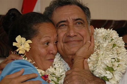 temaru and polynesia