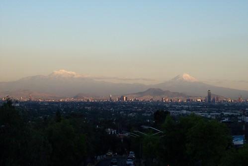 Mexico City volcanos 1