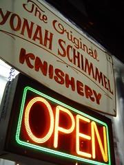 Yonah Schimmel Knishery