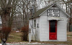 Muddy, Illinois Post Office (old) by Jim Frazier