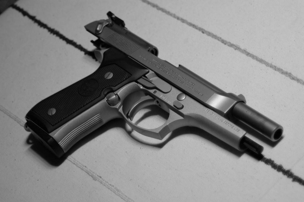 Beretta 92FS (right)