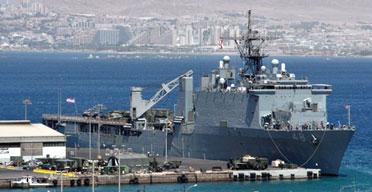 USS Ashland in Jordan