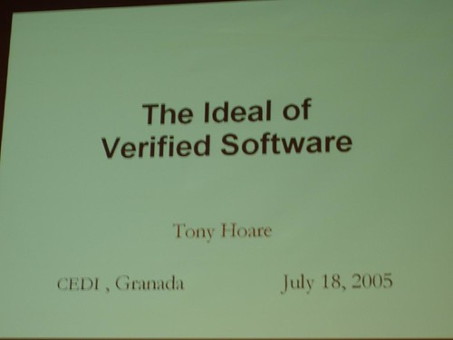 CEDI. The ideal of Verified Software.