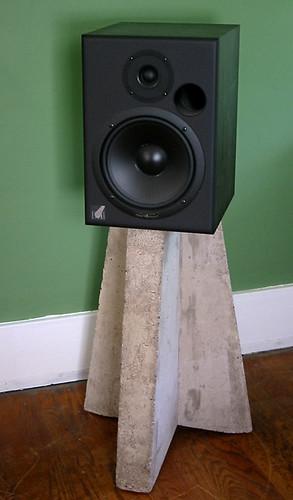 Concrete Speaker Tripod   by Voxphoto