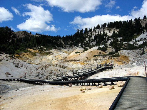 Hike back from Bumpass Hell | by amitp