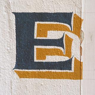 letter E | by Leo Reynolds