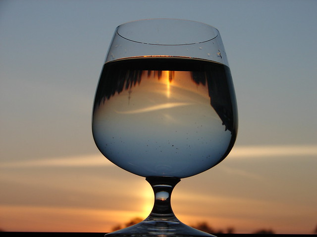 Reflektionen im Glas / glass - reflections