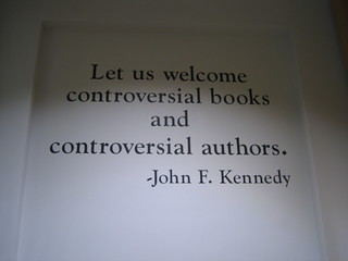 JFK quote in Chicago Public Library | by eszter