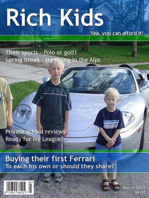 rich kids magazine cover | rich kids magazine cover | Flickr