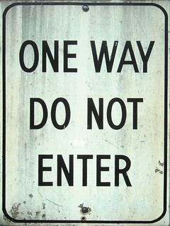 ONE WAY DO NOT ENTER | by striatic