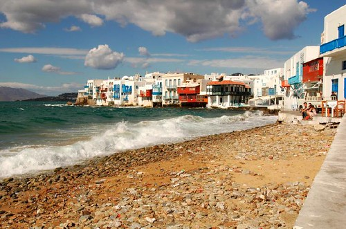 Little Venice, Mykonos | by Zola Chen