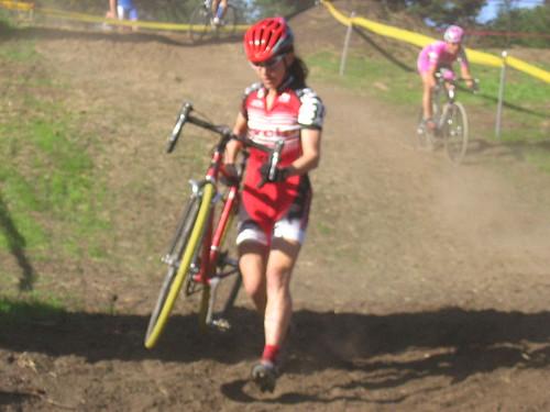 Lauren C dismounted