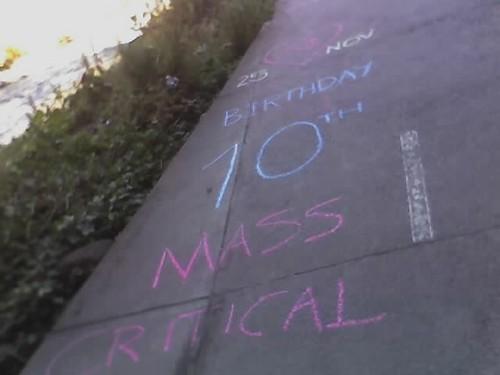 Melbourne Bike Trail - CM 10th Birthday Chalk