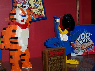 LEGO Kellogg's Sculptures at Williamsport Airport | by Bill Ward's Brickpile