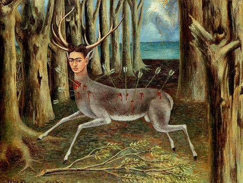 Palleta  The Wounded Deer - Frida Kahlo