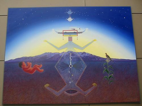 Mural, Denver Airport, Denver Colorado