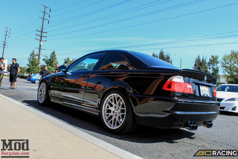 BMW E46 M3 | BC Racing BR Series Coilovers www modbargains c