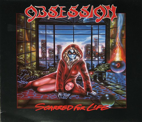"OBSESSION SCARRED FOR LIFE 12"" vinyl LP 