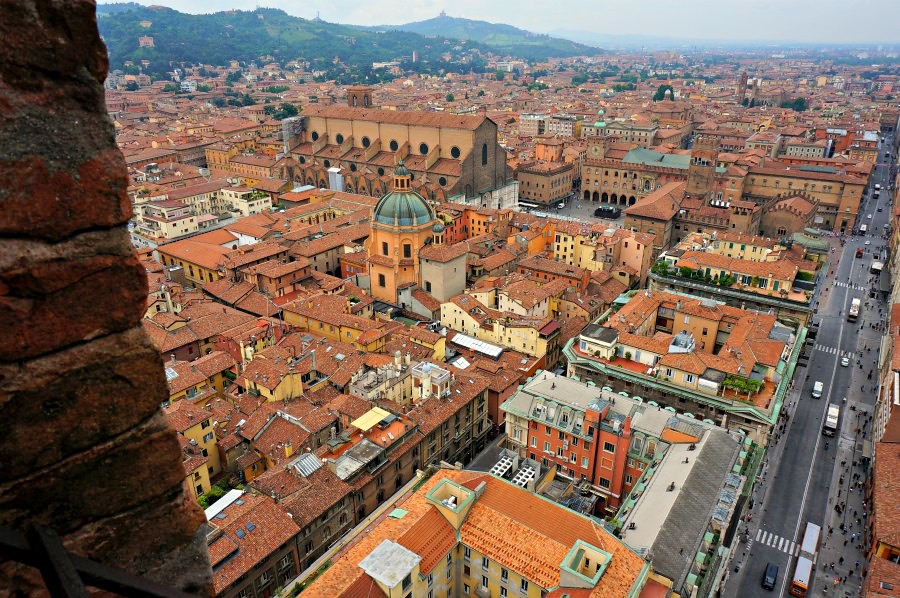 Bologna Tower View