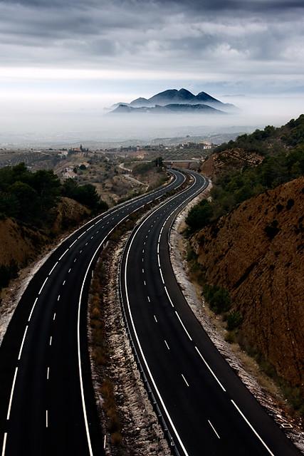 Sierra Elvira II, camino a Granada