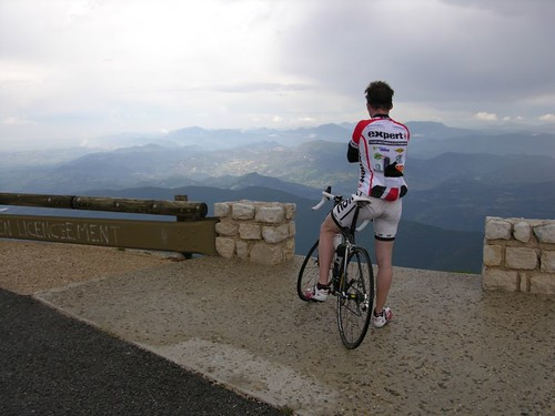 Summit Achieved, Storm approaching, Mt. Ventoux | by JMWriter