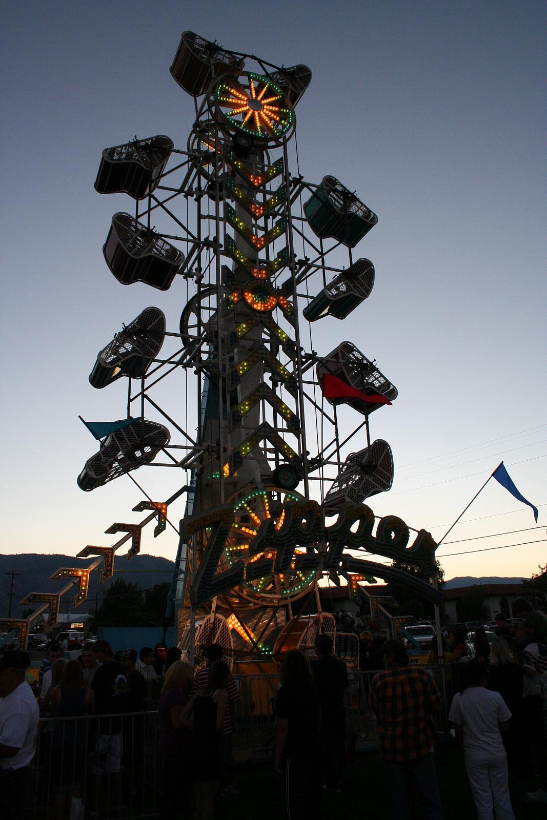 Mills Park Carnival Around Carson