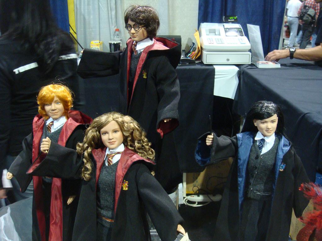 Tonner Harry Potter Dolls Ron Weasley Hermione Granger