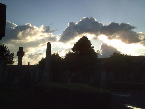Sundown: Neilston Cemetery