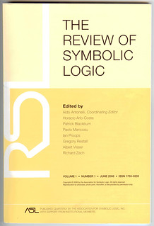 The Review of Symbolic Logic, June 2008   by anarchic_universe