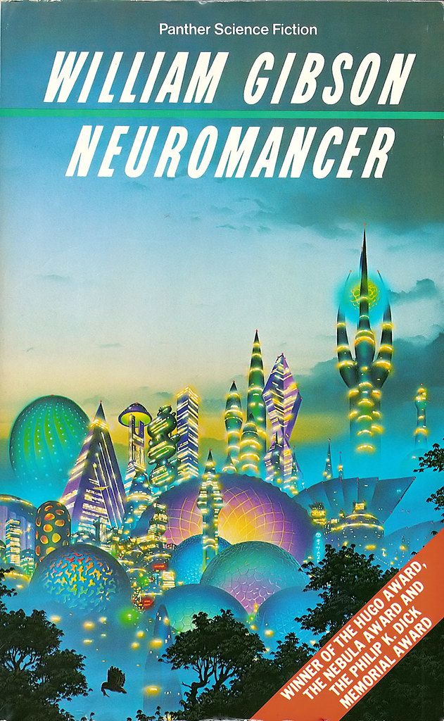Neuromancer Cover 1986 Panther Edition