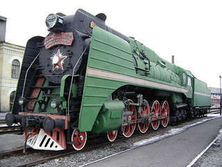 The last steam locomotive built in Soviet Union. 1956
