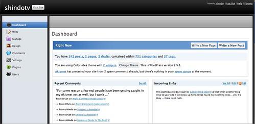 Wordpress Leopard Style