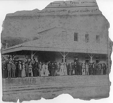 Opening of Porus Extension, Jamaica Railway Corporation,Ma