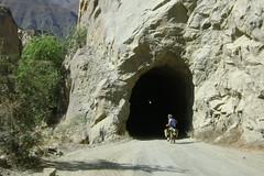 Tunnel in Canon del Pato