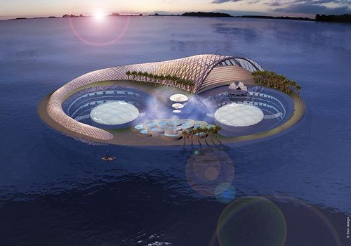 Hydropolis, the world's first underwater hotel. | by vacantready
