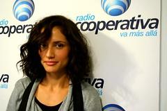 Leonor Varela en Una  Nueva Mañana en Cooperativa