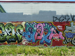 Stop 'n' Lock Graffiti Wall, 2008.06.14 | by tgkohn