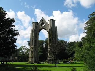 Ruined abbey, Walsingham | by mia!