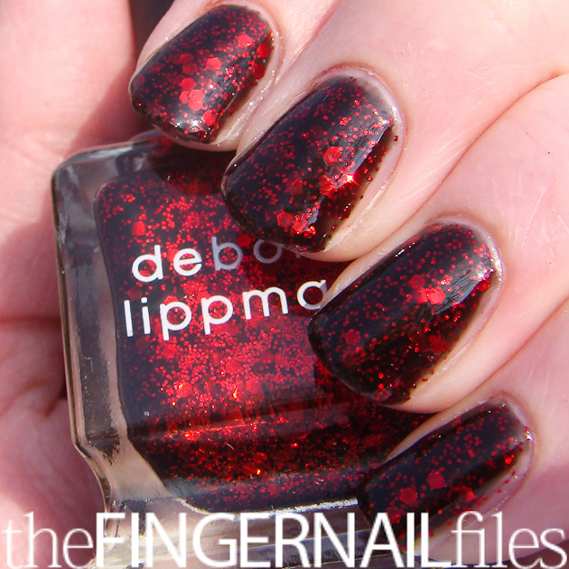 ... Deborah Lippmann Ruby Red Slippers Nail Polish | by The Fingernail Files | www.thefingernailfiles