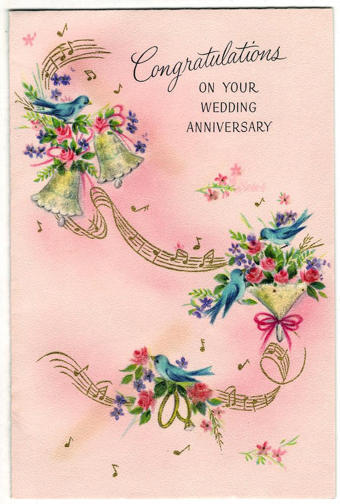 Wedding Anniversary Card front | Wedding Anniversary Card fr