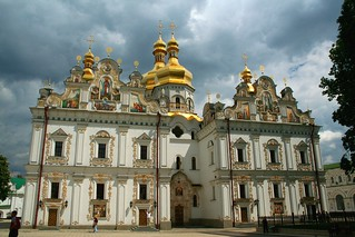 Holy Dormition Cathedral of the Kiev Pechersk Lavra | by Leslein
