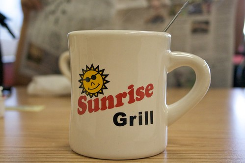 cup coffee breakfast sunrise georgia grill mug augusta