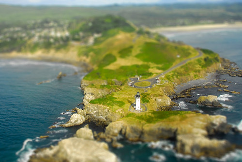 """Miniature"" Yaquina Head Lighthouse 